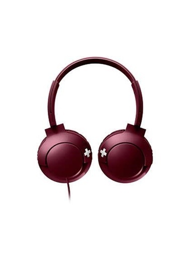 Philips Shl3075Rd/00 Bass+Mıkrofonlu Kırmızı Kulaklık Kırmızı